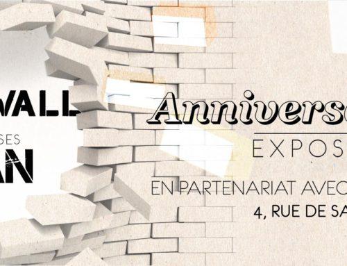 Évènement 3 jours de STREET ART-The Wall fête ses 1 an