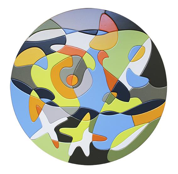 Hublot peinture Agnès Bouche galerie JPHT