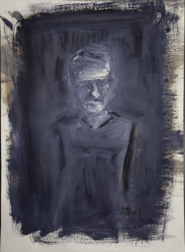 L'écorcheur - Thierry Chavenon No Man's Land - galerie JPHT 05
