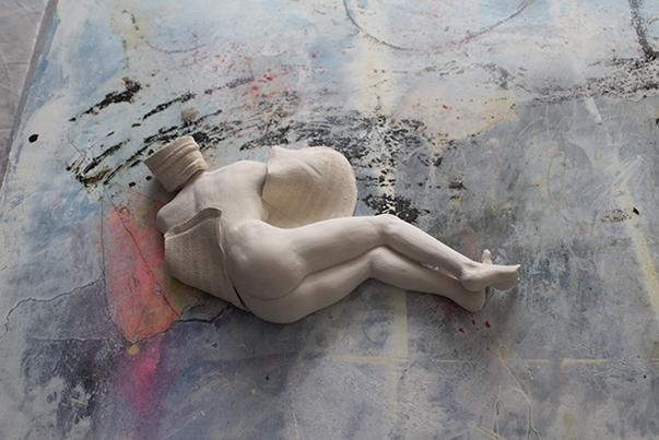 Agnès Bouche Perle de sable - 30 x 16 x 2 cm - €800