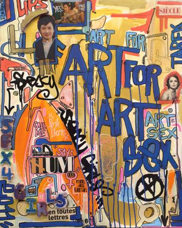 Art for art sex - Tarek - 2011