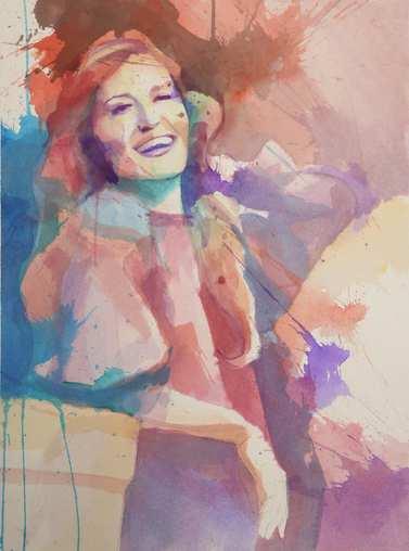 Le bonheur simplement - Javier Navarro Avilés 60 x 80 cm