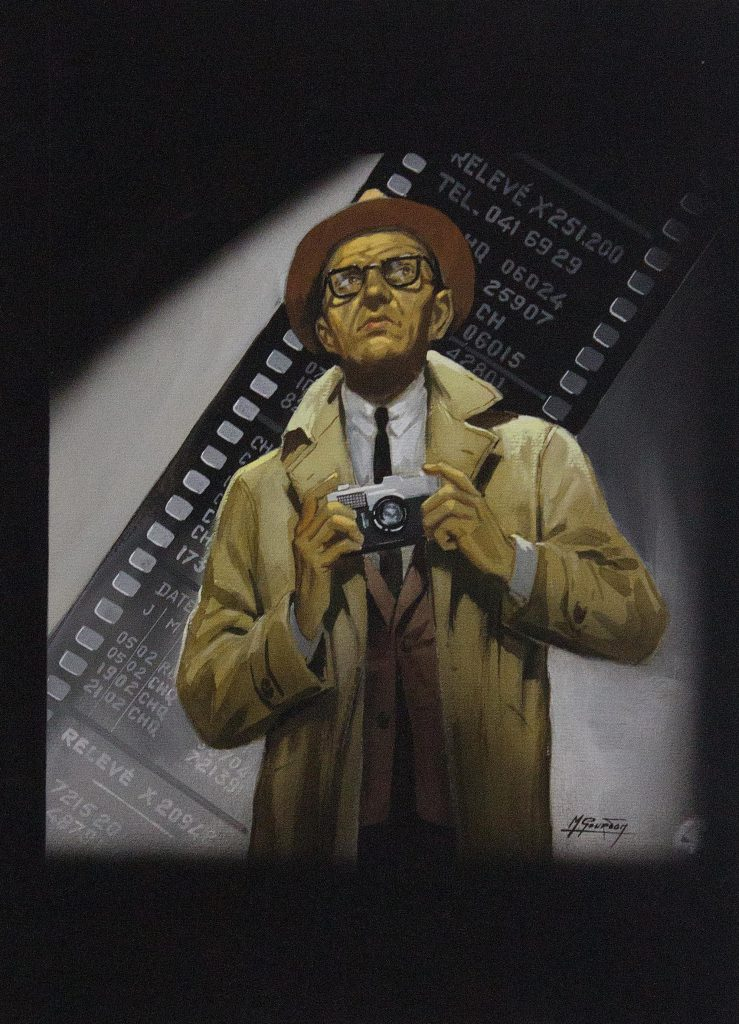 Roger Faller - Cheque en rouge - Galerie JPHT