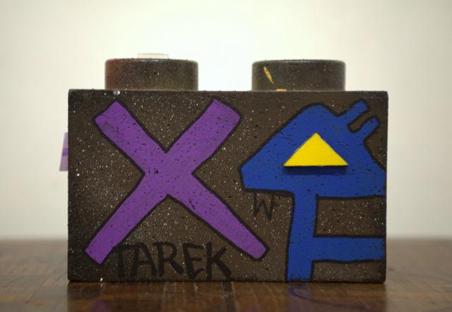 Tarek - Lego 2pieces - 2013