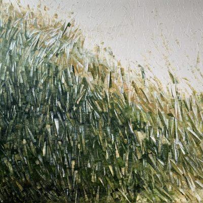 CALL SPRING Series Carole Jury 91,4 cm x 198,1 cm Peinture à l'huile