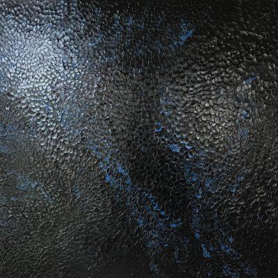 Carole Jury LET'S GET HIGH 3 Series Peinture à l'huile 76,2 cm x 76,2 cm
