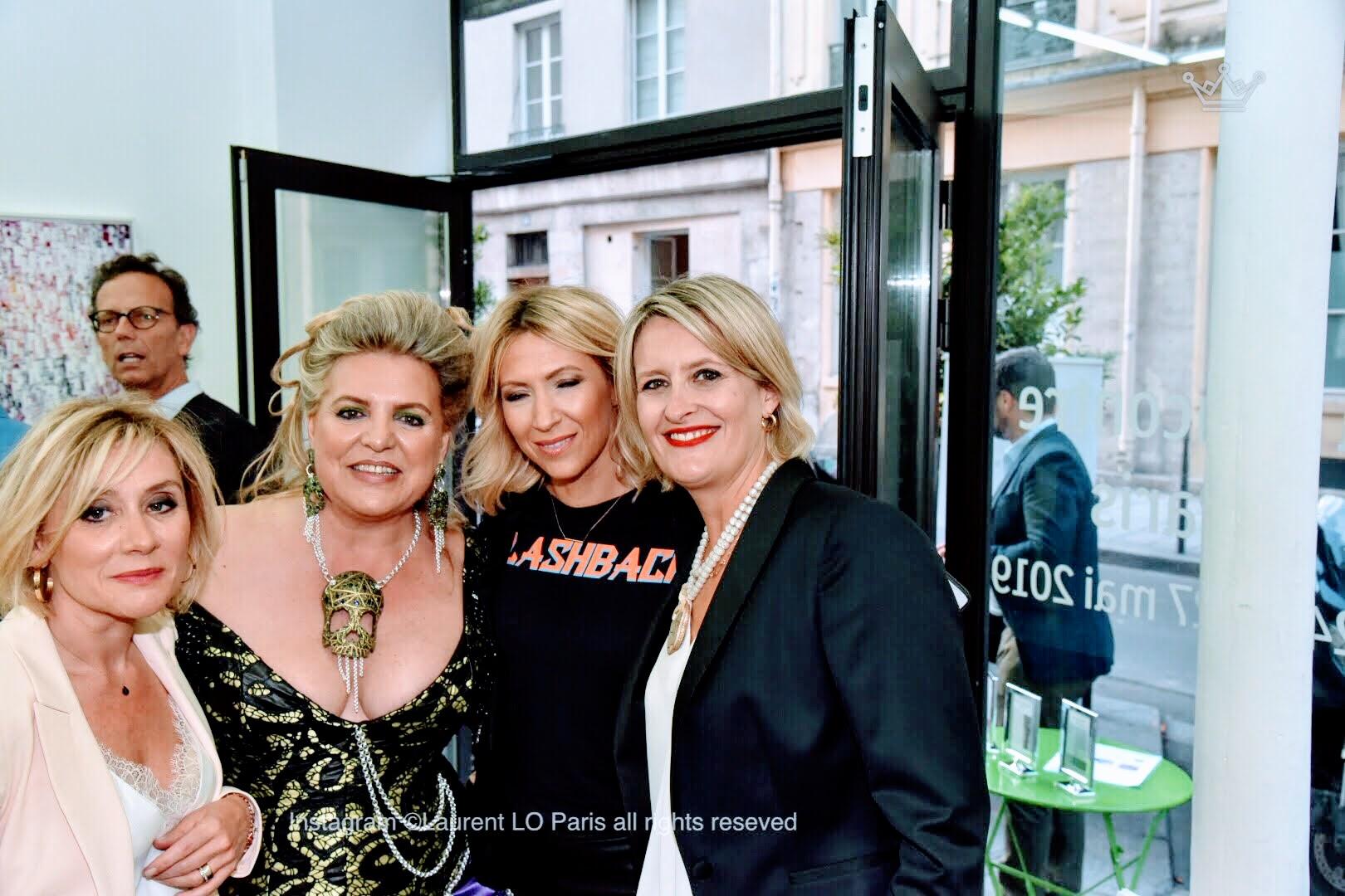 3 Femmes de Paris à New York 1 : La Rencontre à Paris Exposition de Peinture et Sculpture un dialogue itinérant entre 3 femmes artistes