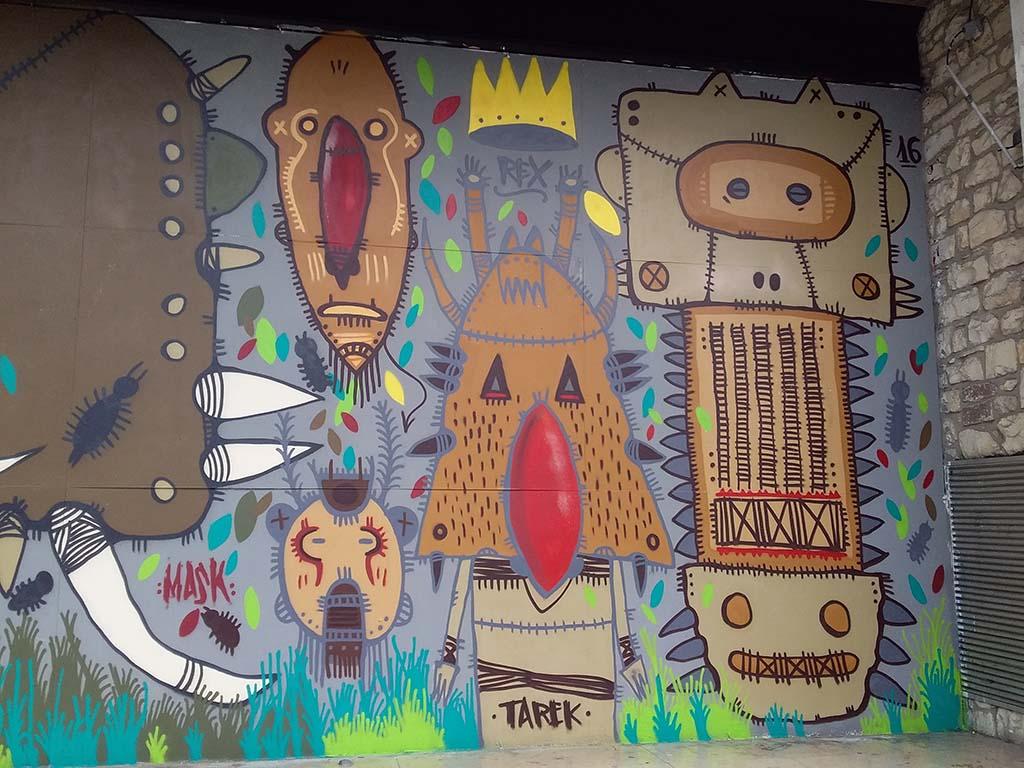 Mur de bourges Tarek