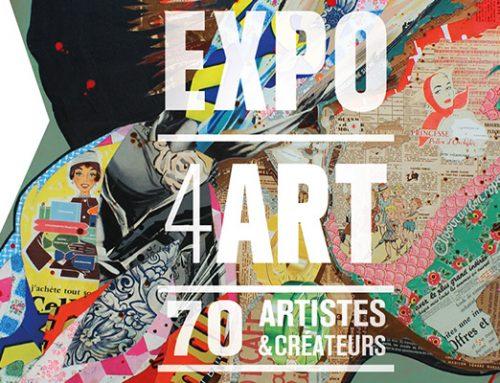 Les Blancs Manteaux – Expo 4ART – 70 Artistes créateurs