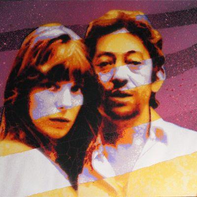 Mat Elbe - Gainsbourg - Toile4_35x27 - Galerie JPHT