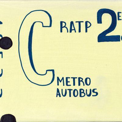 RATP - Tarek - Gainsbourg - Galerie JPHT