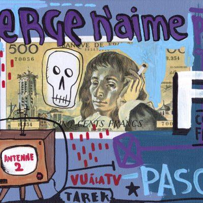 Serge n'aime F comme Franc - Tarek - Gainsbourg - Galerie JPHT - 0015