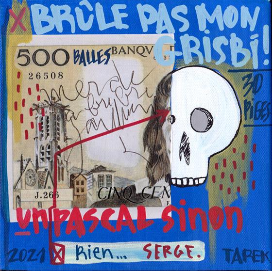 Tarek-SG - Tarek - Gainsbourg - Galerie JPHT - 0003