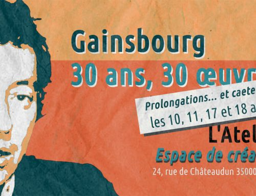 Exposition « Gainsbourg 30 ans, 30 œuvres »